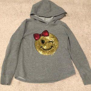 Emoji hoodie sweatshirt